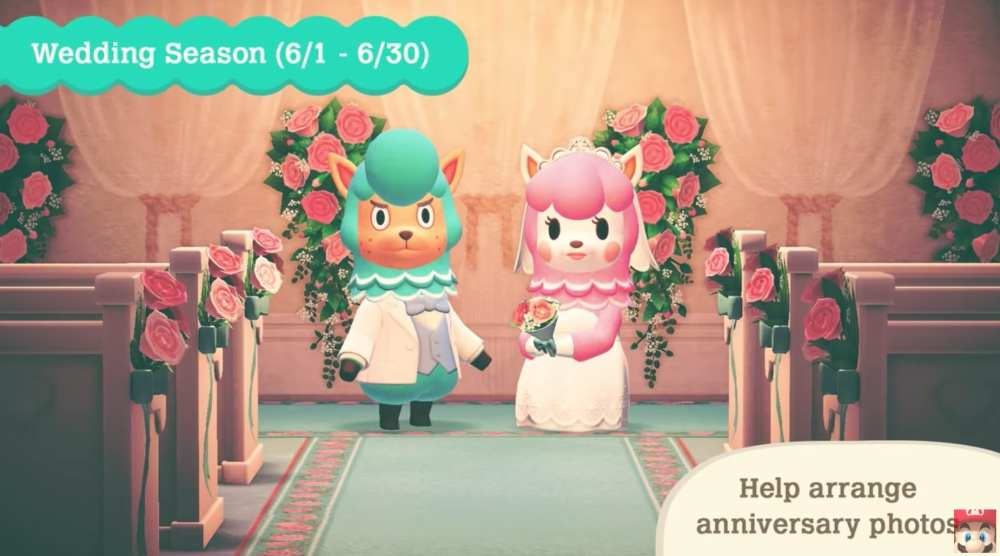 wedding season, april update
