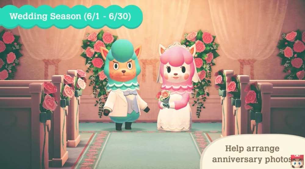 wedding season, april update