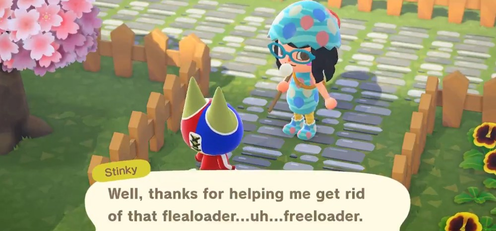 Animal Crossing New Horizons Fleas