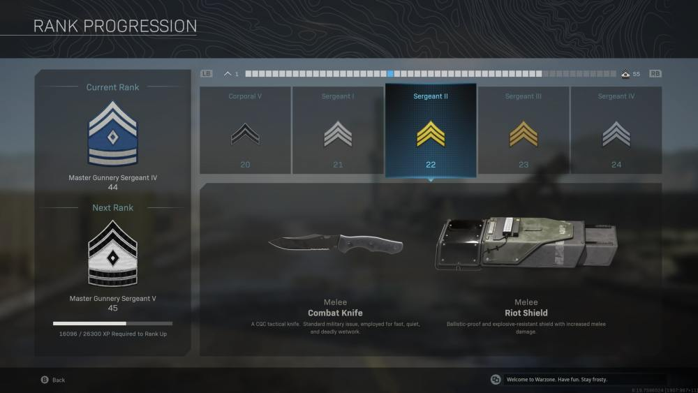 how to unlock combat knife in warzone