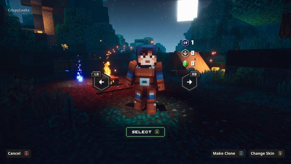Minecraft Dungeons Brauch skins