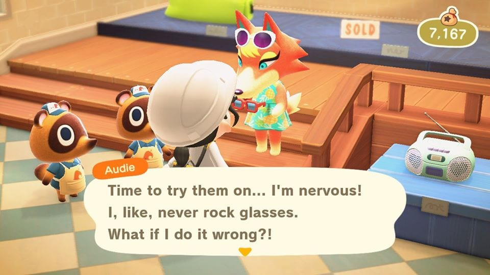 Animal Crossing New Horizons Audie