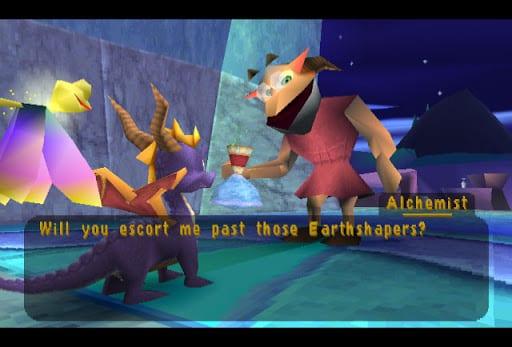 Worst Escort Missions - Spyro