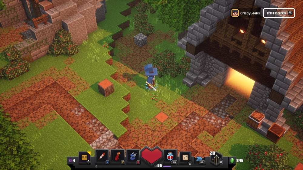 minecraft dungeons house