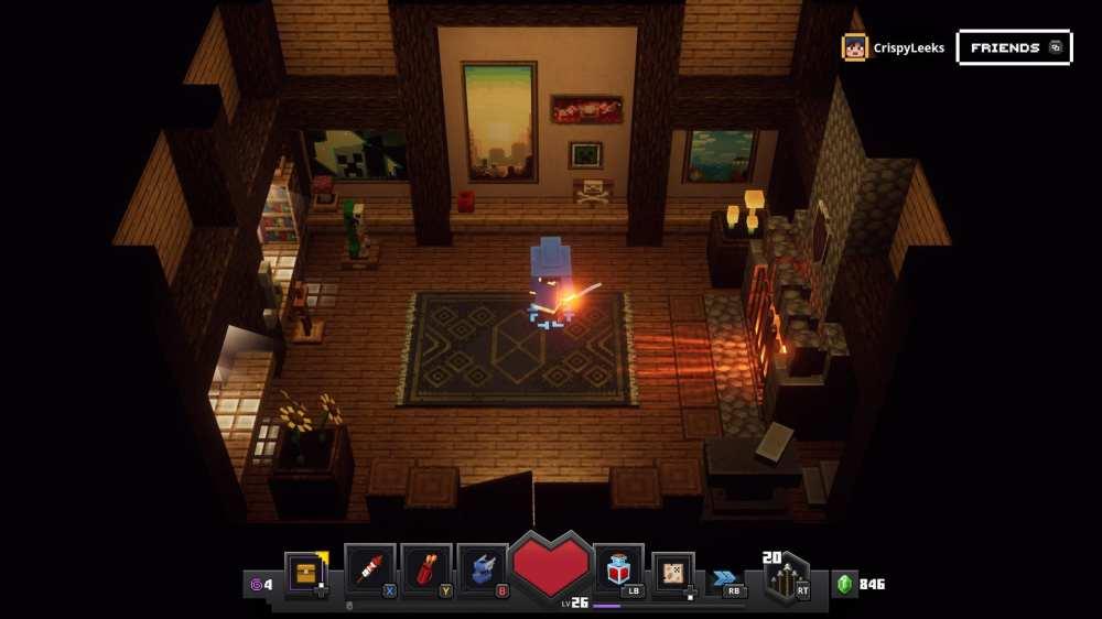 decorate house minecraft dungeons