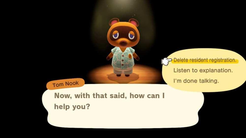 delete player villager animal crossing new horizons