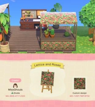 Lattice and Roses