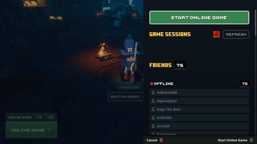 minecraft dungeons cooperativo multijugador