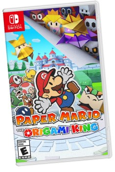 paper mario, the origami king