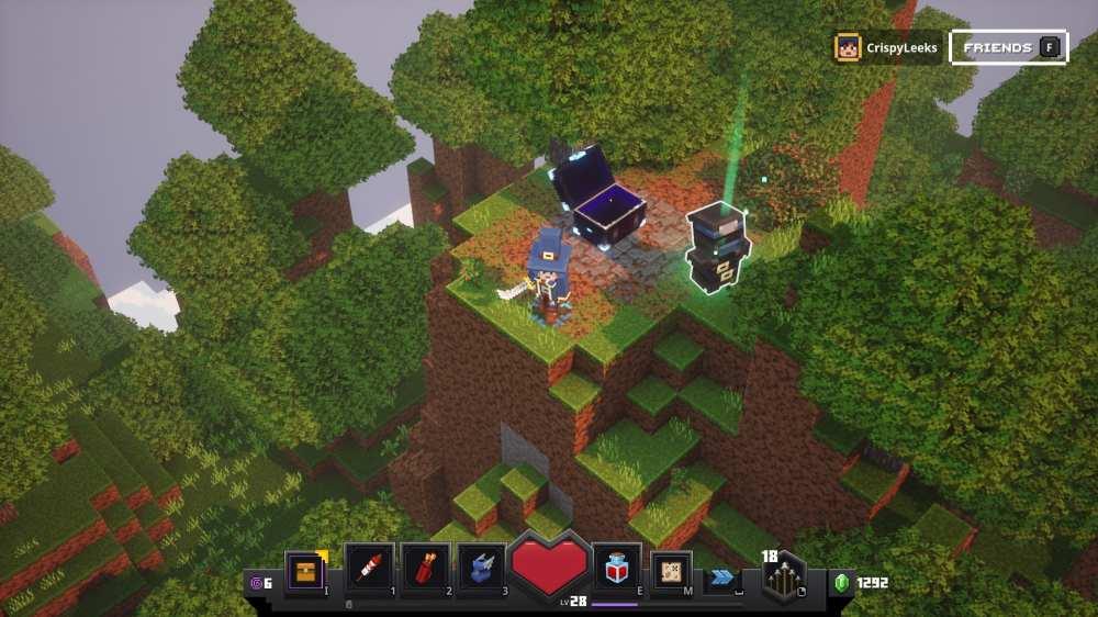 minecraft dungeons camp secrets
