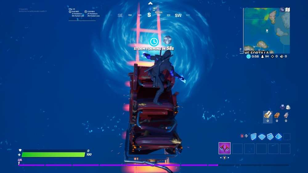 fortnite whirlpool fortilla