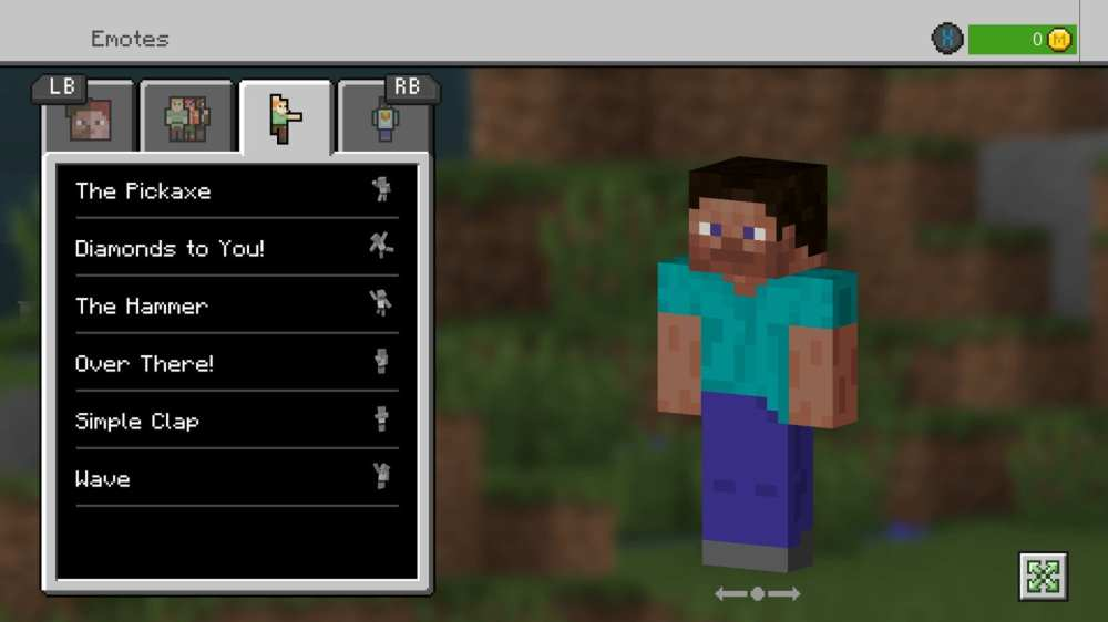 how to get emotes in minecraft