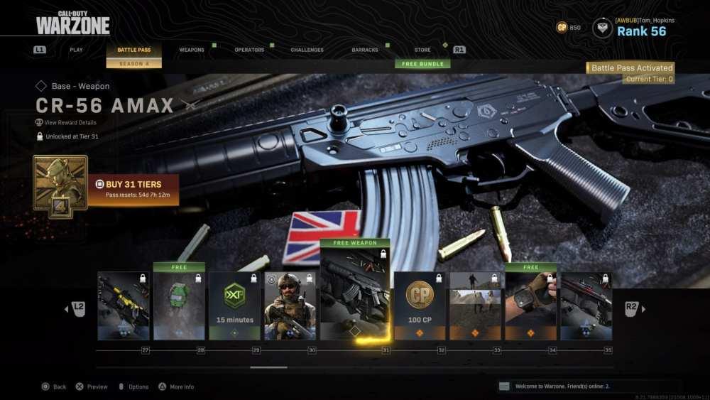 warzone, modern warfare, new weapons, cr-56 amax