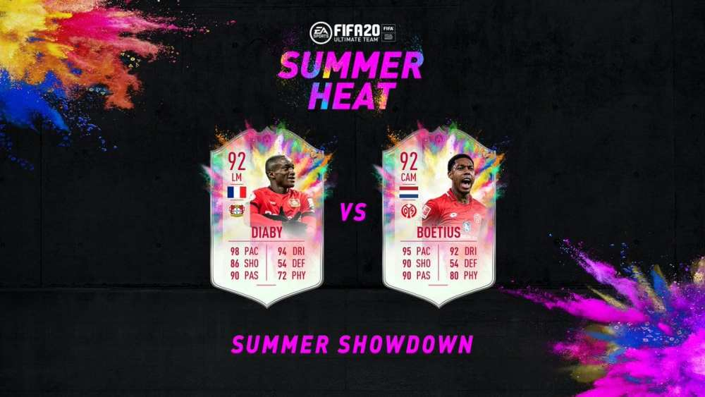 summer showdown, fifa 20
