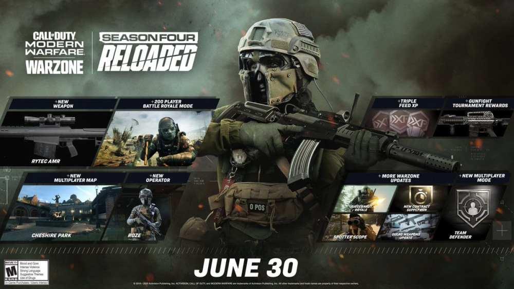 warzone, season 4 reloaded