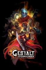 Gestalt Steam and Cinder - Key Art - Poster