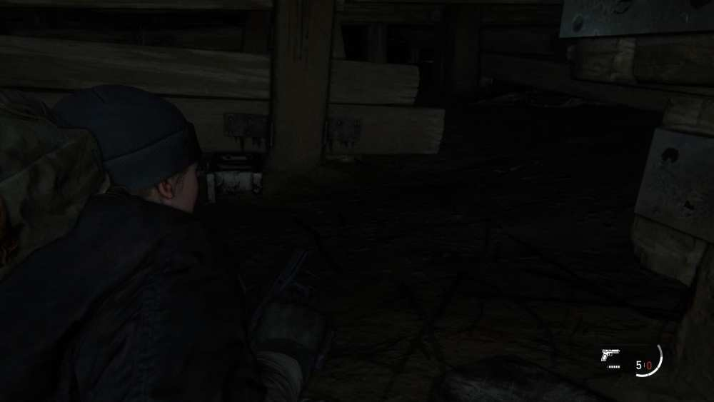 how to go prone in the last of us 2