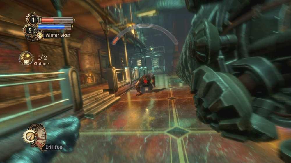 Bioshock 2 combat