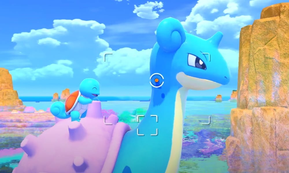 lapras and squirtle