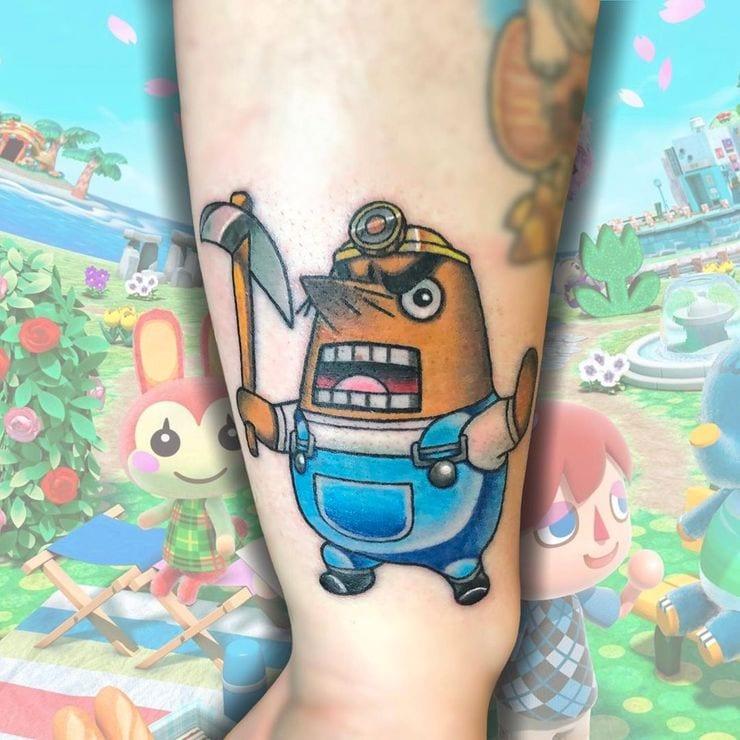 Animal Crossing Tattoos