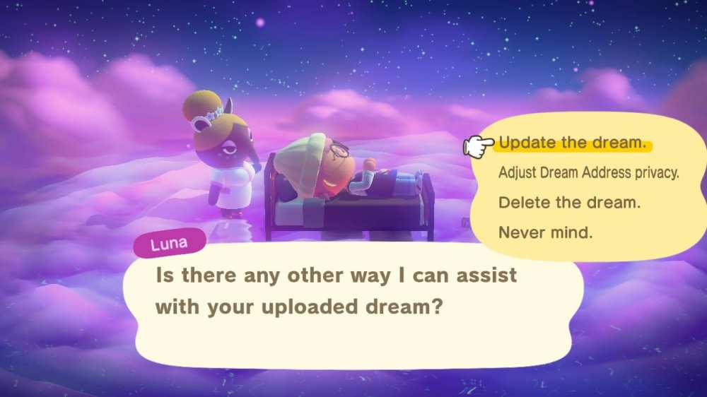 Upload dream island animal crossing new horizons
