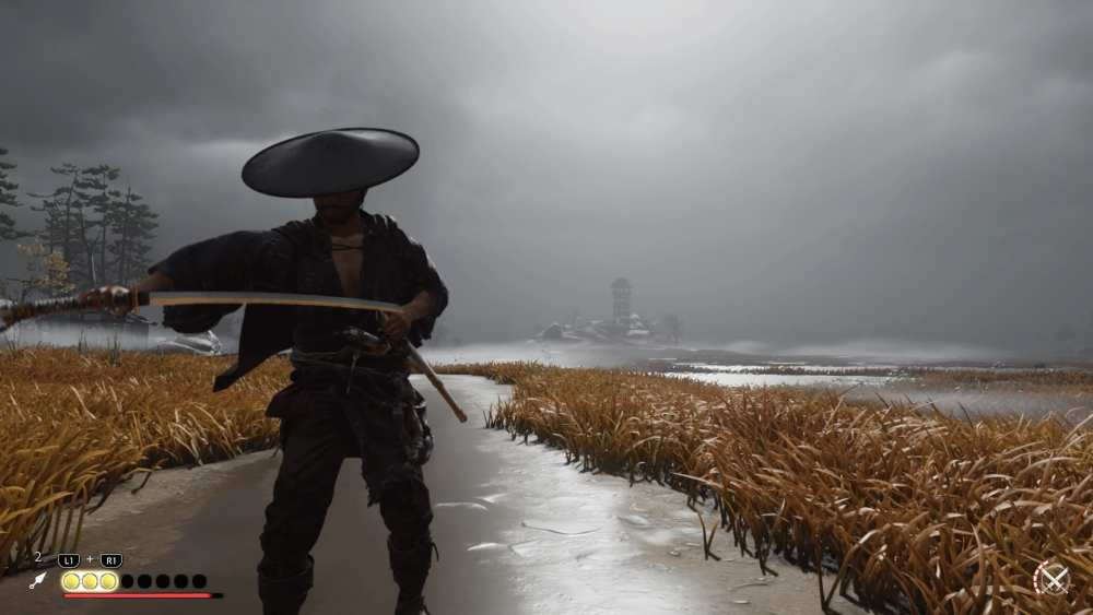 sheath sword ghost of tsushima