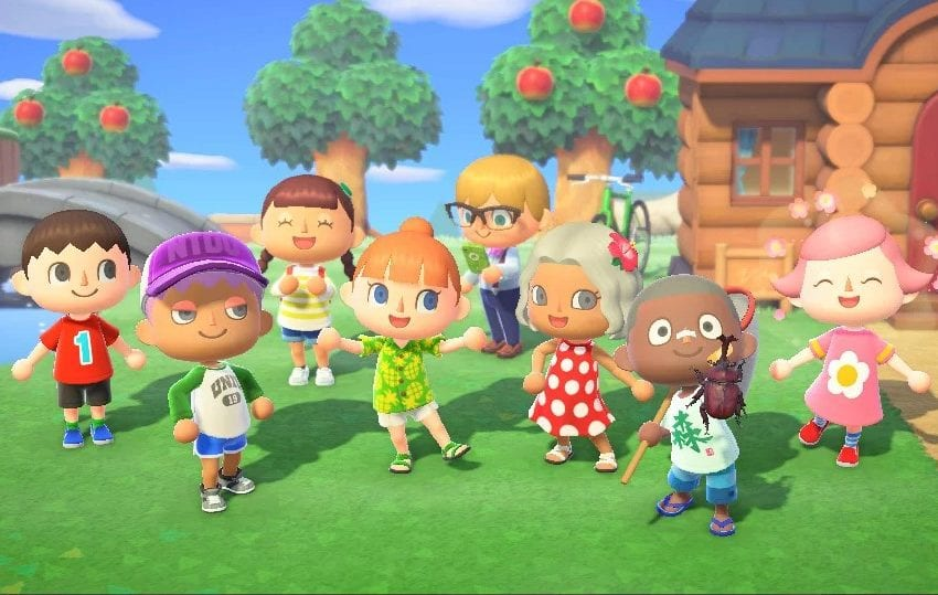 animal crossing new horizons, best switch games of 2020