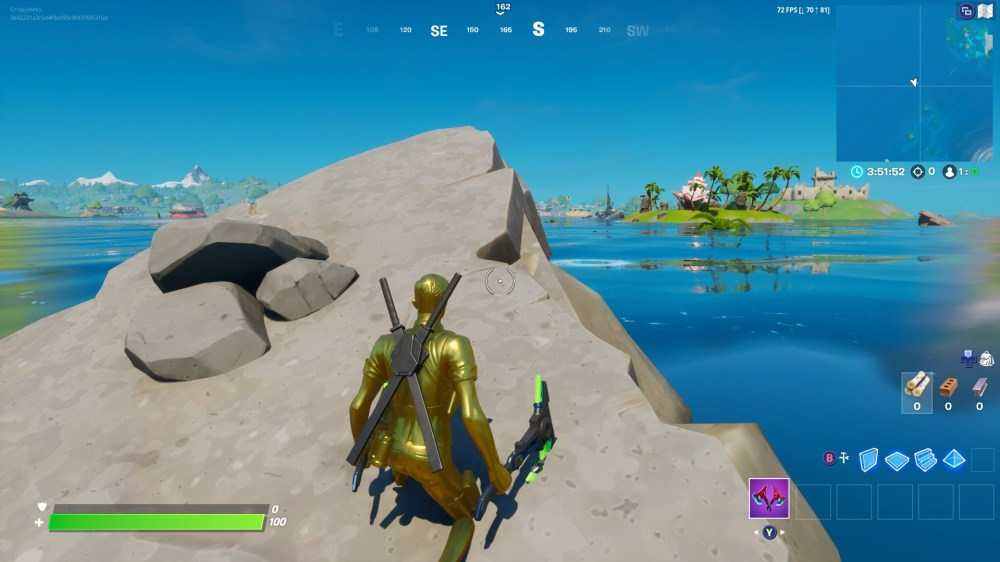Fortnite Aquaman Trident Location