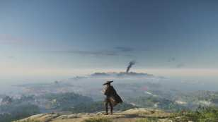 ghost of tsushima, map, size, how big
