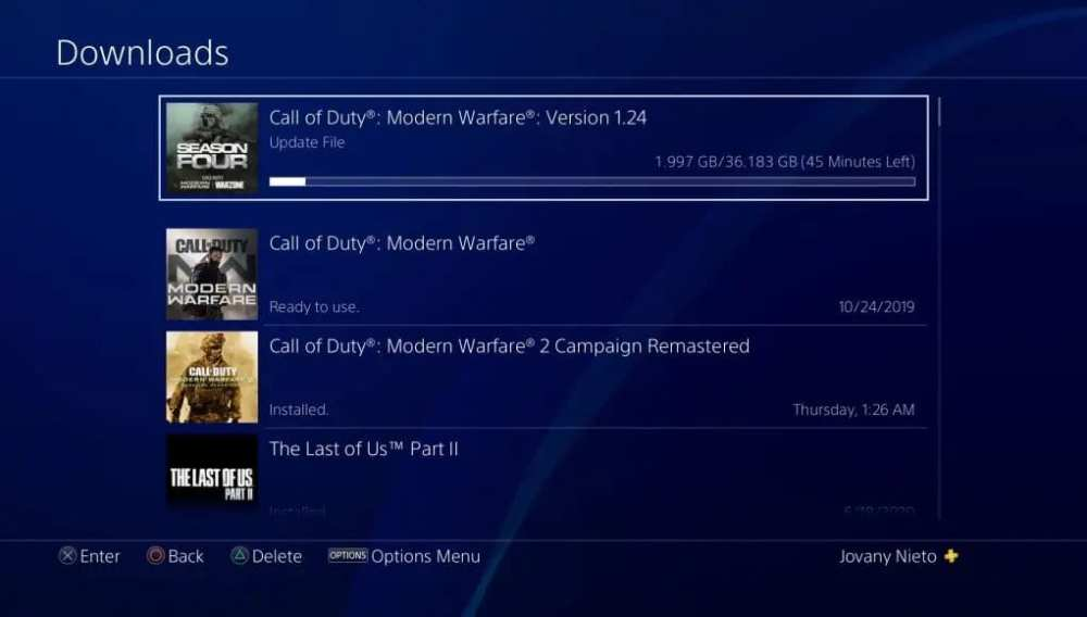 modern warfare season 5, update