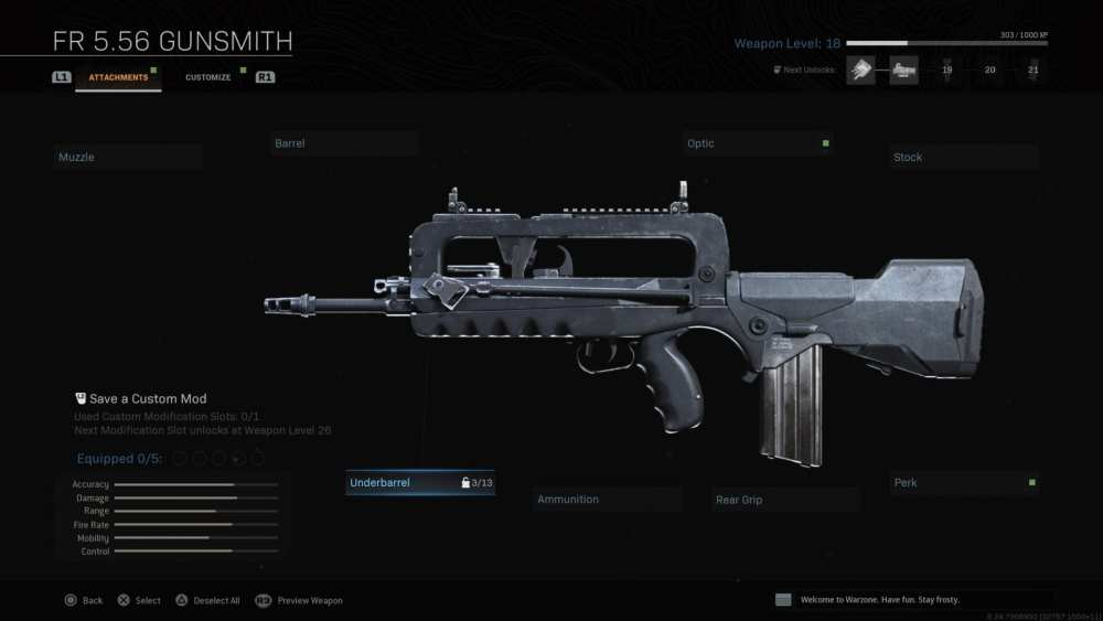 modern warfare, famas shotgun