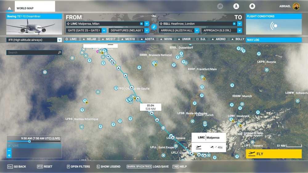 Microsoft Flight Simulator Flight Plan