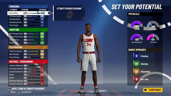 NBA 2K21 Builds