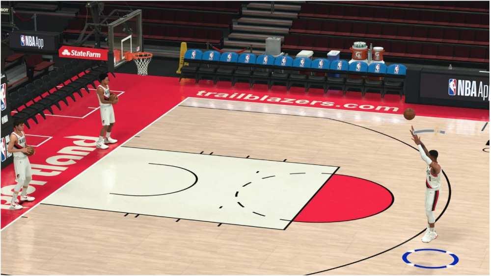 NBA 2K21 New Shot Meter