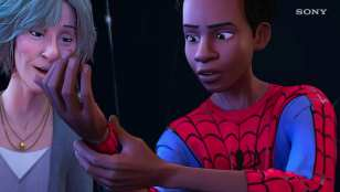 sony, miles morales, into the spider-verse, spider-man
