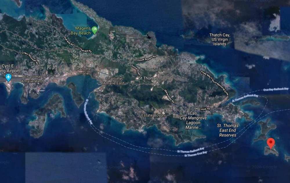 Epstein Island Location in Microsoft Flight Simulator