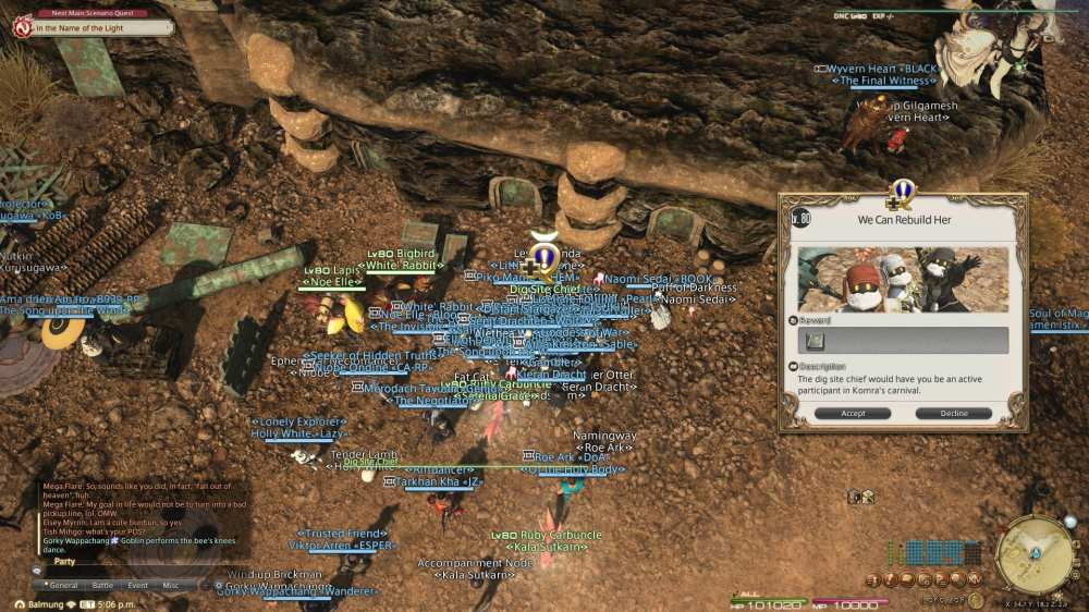 Puppets' Bunket Alliance raid FFXIV