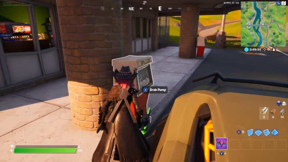 refueling cars in fortnite