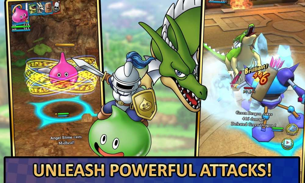 Dragon Quest Tact Announced for The West