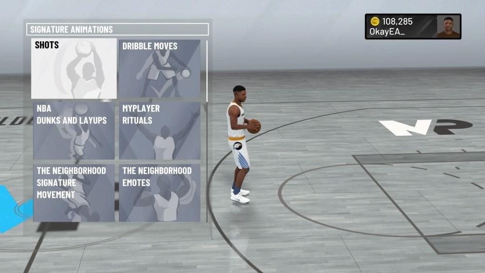 NBA 2K21, Change animations