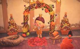 fall, animal crossing