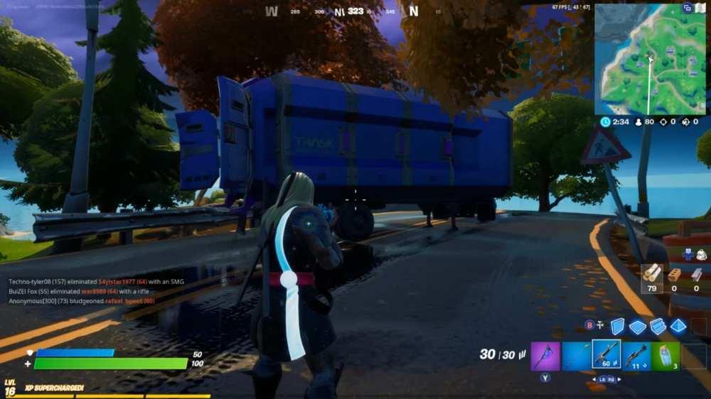 fortnite trask truck location