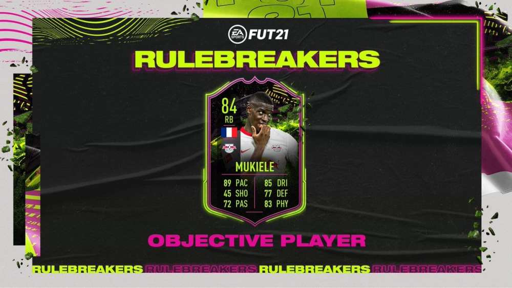 fifa 21, rulebreakers mukiele objectives
