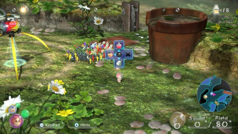 how to switch characters in pikmin 3 deluxe