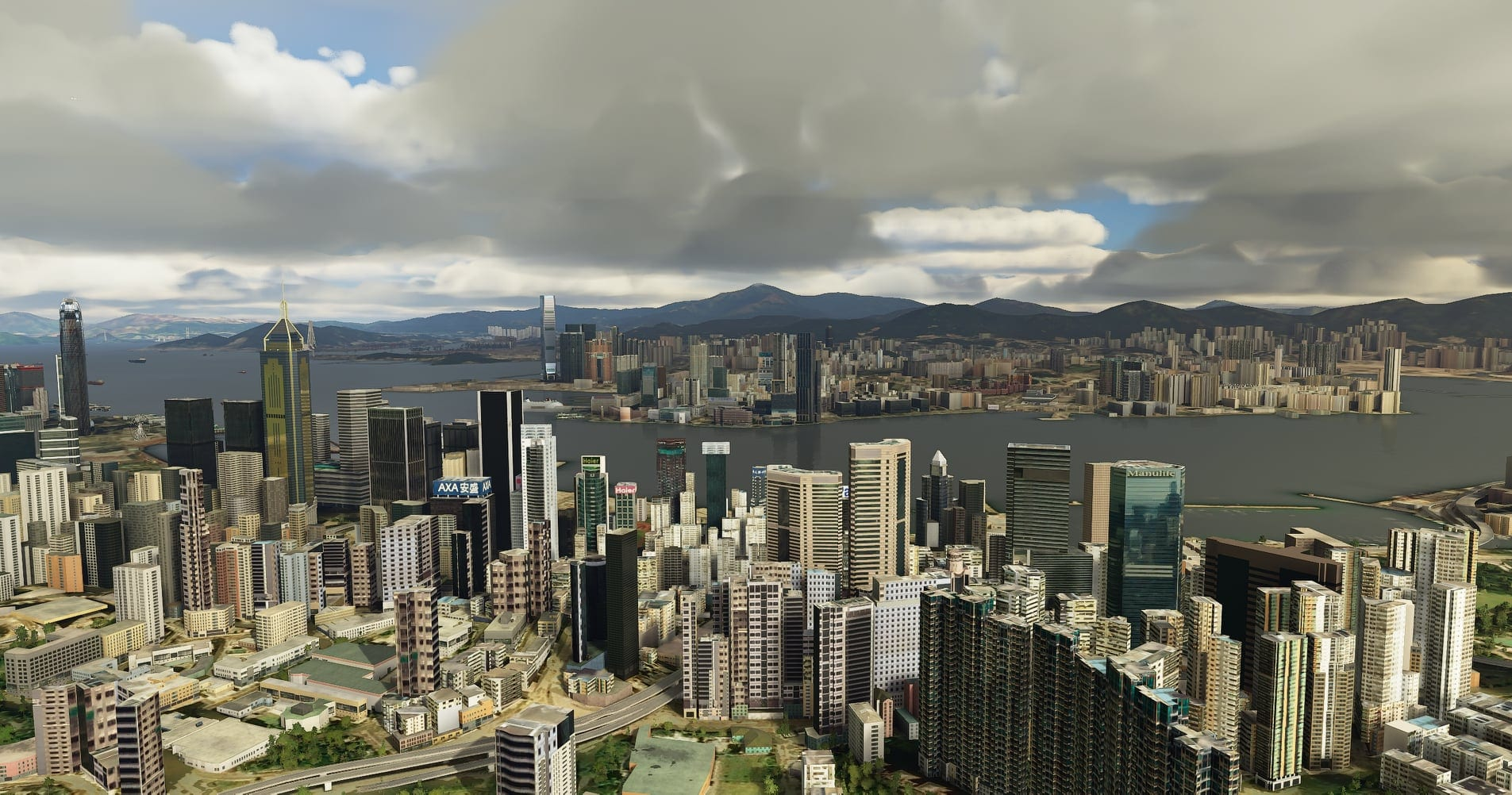 Microsoft Flight Simulator Will get Stunning Hong-Kong Surroundings by SamScene3D 1