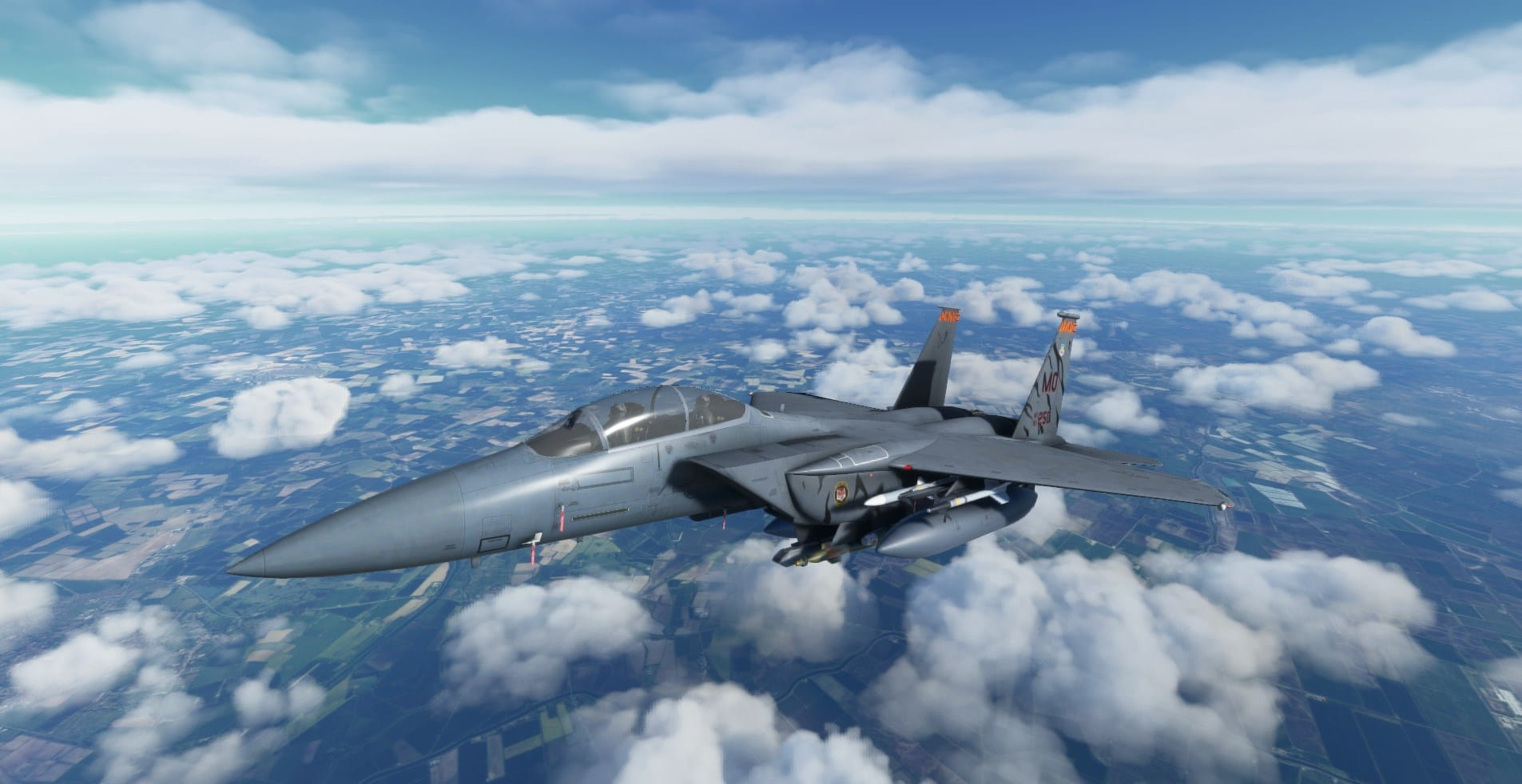 F-15 For Microsoft Flight Simulator Will get Dev Replace Together with Strike Eagle & HUD; P-47 Introduced 1