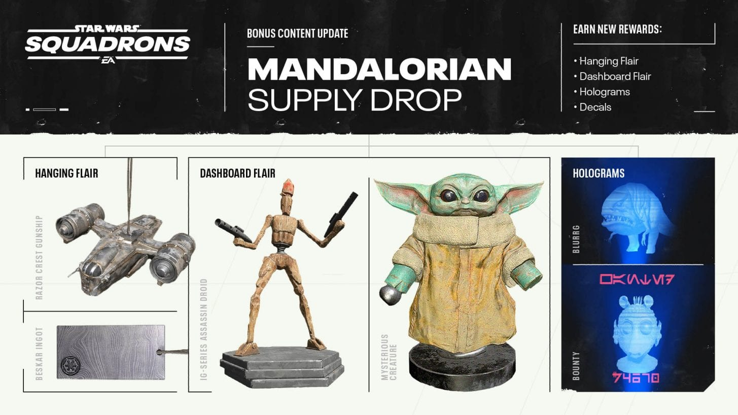 Star Wars Squadrons Getting Child Yoda Dashboard Aptitude & Extra To Have a good time The Mandalorian Season 2 1