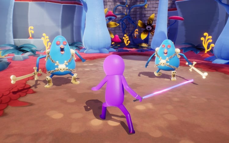 Trover in Trover Saves the Universe, Oculus Quest