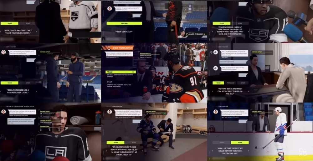 Be A Pro, NHL 21