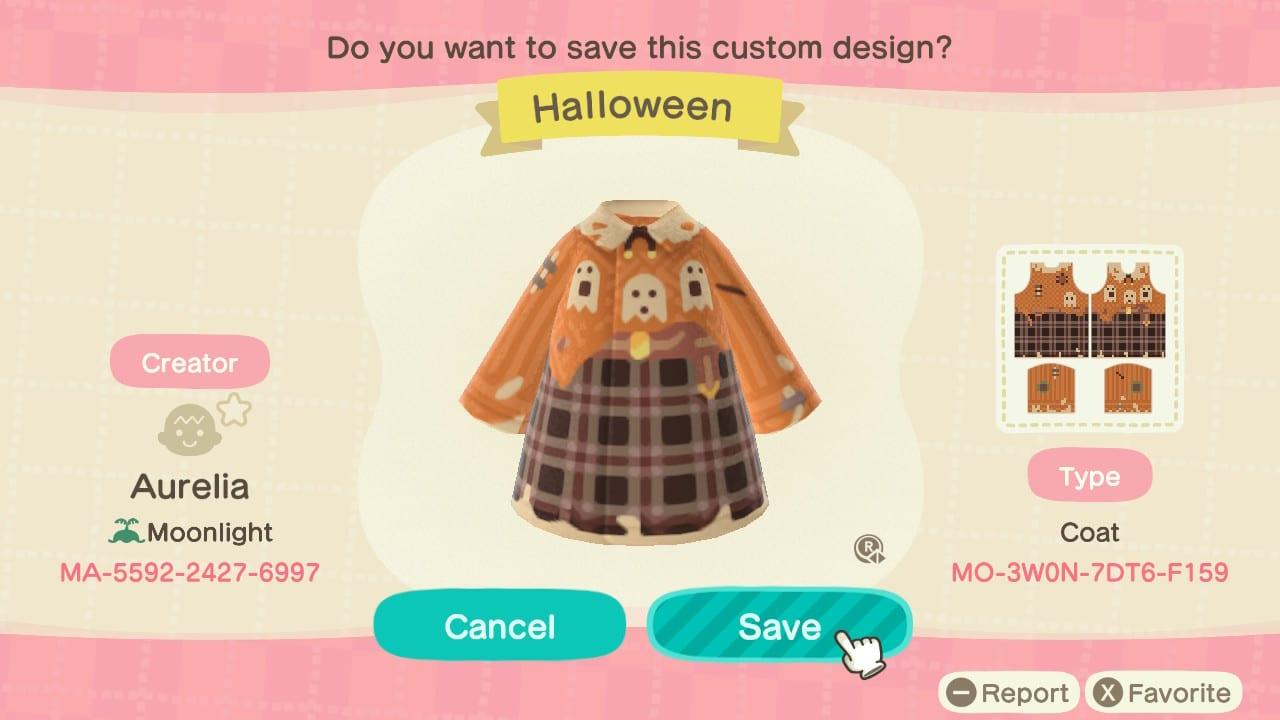 Halloween Coat